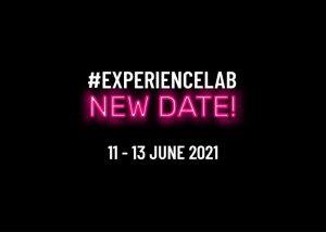 Experience Lab: la seconda edizione si terrà dall' 11 giugno al 13 giugno 2021