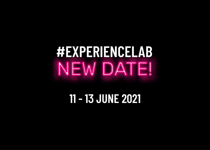 Experience Lab: the second edition is set to take place from June, 11 to June, 13 2021